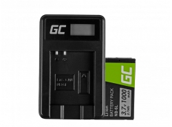 Green Cell ® Battery NB-6L/6LH and Charger CB-2LY for Canon PowerShot SX510 HS, SX520 HS, SX530 HS, SX600 HS