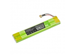 Green Cell® Battery EU-BT00003000-B for wireless Bluetooth Speaker TDK Life On Record A33 A34 A34 TREK Max, NI-MH 7.2V 2000mAh
