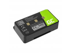Green Cell ® Battery 010-10517-00 011-00955-00 for GPS Garmin GPSMAP 276 296 376 376c 396 495 496