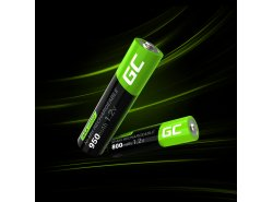 Green Cell 4x AAA HR03 800mAh Battery