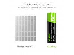 Green Cell 2x AA HR6 2600mAh Battery