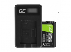 Green Cell ® Battery FW50 for Sony Alpha A7, A7 II, A7R, A7R II, A7S, A7S II, A5000, A5100, A6000, A6300 7.4V 1050mAh