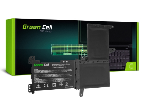 Green Cell Battery B31N1637 C31N1637 for Asus VivoBook S15 S510 S510U S510UA S510UN S510UQ 15 F510 F510U F510UA