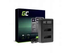 Camera Battery Charger BC-V615 | AC-VL1 Green Cell ® for Sony A58, A57, A65, A77, A99, A900, A700, A580, A56, A55,0 A850