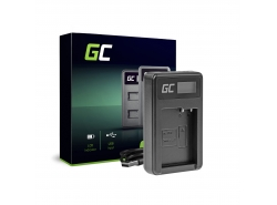 Camera Battery Charger DE-A79B Green Cell ® for Panasonic FZ2000, G81, FZ1000, FZ300, G6M, GX8M, G70M, G70KA, GX8EG-K, GX8