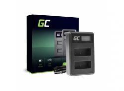 Camera Battery Charger BC-V615   AC-VL1 Green Cell ® for Sony A58, A57, A65, A77, A99, A900, A700, A580, A56, A55,0 A850