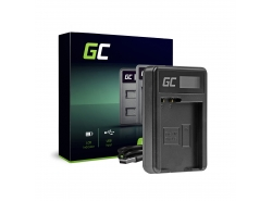 Camera battery charger MH-25 Green Cell for Nikon EN-EL15 D850 D810 D800 D750 D7500 D7200 D7100 D610 D600