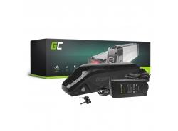 Accumulator Battery Green Cell Down Tube 36V 11.6Ah 418Wh for Electric Bike E-Bike Pedelec