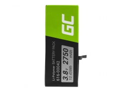 Green Cell Phone Battery for Apple iPhone 6S Plus + Toolkit
