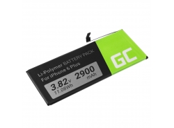 Green Cell Phone Battery A1687 for Apple iPhone 6 Plus + Toolkit