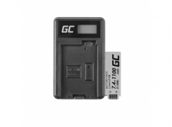 Green Cell ® Battery LP-E8 and Charger LC-E8 for Canon Rebel T2i, T3i, T4i, T5i, EOS 600D, 550D, 650D, 700D, Kiss X5, X6