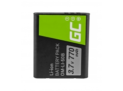 Green Cell ® Battery Li-50B for Olympus SZ-15 SZ-16 Tough 6000, 8000 TG-820 TG-830 TG-850 VR-370 XZ-1 XZ-10 3.7V 770mAh