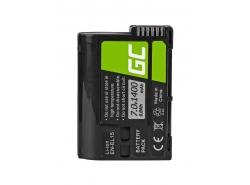 Battery Green Cell ® EN-EL15 EN-EL15A for cameras Nikon D600 D610 D750 D800 D810 D810A D7000 D7100 D7200 D7500, 7.0V 1400mAh