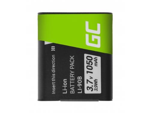 Battery Green Cell ® Li-90B Li-92B for cameras Olympus Tough TG-1 TG-2 TG-3 TG-4 TG-5 Stylus XZ-2 SP-100EE SH-50 3.7V 1050mAh