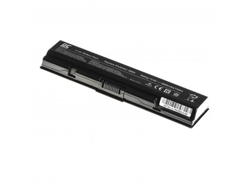 Laptop Battery Green Cell ULTRA PA3534U-1BRS for Toshiba Satellite A200 A300 A500 L200 L300 L500 6800mAh