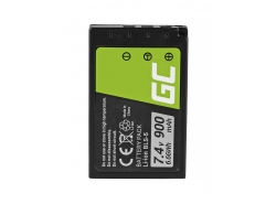 Green Cell ® Battery BLS-5 / BLS-50 for Olympus OM-D E-M10, PEN E-PL2, E-PL5, E-PL6, E-PL7, E-PM2, Stylus 1 7.4V 900mAh