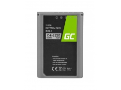 Battery Green Cell ® BLN-1 BLN1 for cameras Olympus E-M5 Mark II OM-D E-M5 PEN-F PEN E-P5 OM-D E-M1 Half-Decoded 7.4V 1020mAh