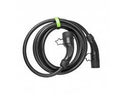 Cable Green Cell GCev¹ Type 2 for charging electric cars (5m, 22kW,  32A, 3-phases)