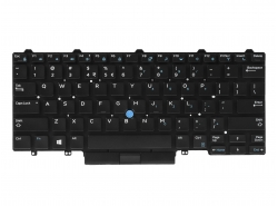 Green Cell ® Keyboard for Laptop Dell Latitude E5450 E5470 E5480 E7450 E7470 E7480