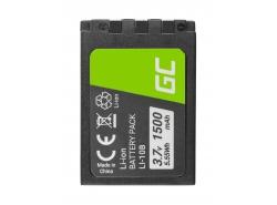 Green Cell ® Battery AHDBT-501 AABAT-001 for GoPro HD HERO5 HERO6 HERO7 Black 3.85V 1220mAh