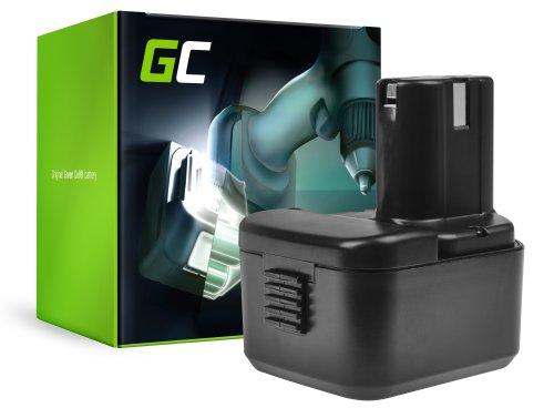 Green Cell® Battery (1.5Ah 12V) BCC1215 EB1214S EB1220BL EB12B for Hitachi CG10DL CH10DL DS12DVB2 DS12DVF3 RB18D UB12D WH12D