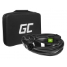 Cable Green Cell GC Type 2 for charging EV Tesla Leaf Ioniq Kona E-tron Zoe 22kW 7 meter with case