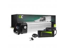 Green Cell ® Battery for Electric Bikes e-Bike 24V 10.4Ah 250Wh