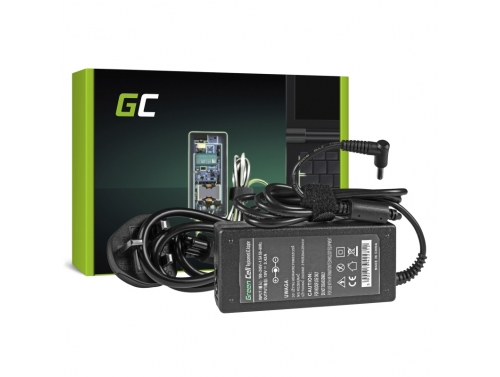 Charger / AC Adapter Green Cell PRO 19V 3.42A 65W for AsusPro BU400 BU400A PU551 PU551L PU551LA PU551LD PU551J PU551JA