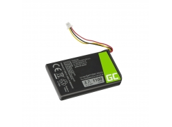 Battery Green Cell ® 361-00056-01 for Garmin Nuvi 53 53LMT 55 55LM 56 65 65LM 66 66LM, Li-Ion Cells 1100mAh 3.7V