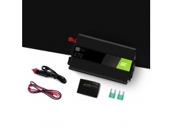 Car Power Inverter Green Cell® 12V to 230V 300W/600W with USB