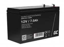 GreenCell® AGM 12V 7Ah VRLA Battery Gel deep cycle UPS Uninterruptible Power Supply energy backup system
