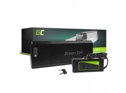 Accumulator Battery Green Cell Rear Rack 24V 13Ah 312Wh for Electric Bike E-Bike Pedelec