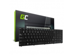Green Cell ® Keyboard for Laptop Asus F52 K50 K50C K50IJ K50IN QWERTY US