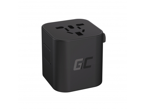 Green Cell GC TripCharge Universal Travel Adapter for Electrical Outlets
