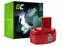 Green Cell ® Akku für Makita 1815 1822 1835 192828-1 4334D 18V 3Ah