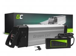 Accumulator Battery Green Cell Silverfish 24V 11.6Ah 278Wh for Electric Bike E-Bike Pedelec