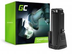 Green Cell® Battery (2Ah 3.6V) 2607336241 BAT504 for Bosch GSR GBA 3.6 PRODRIVE Mx2Drive
