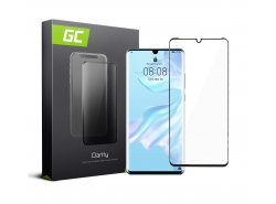 Screen Protector for Huawei P30 Pro edge glue Tempered Glass GC Clarity 9H Military Grade Invisible Cover