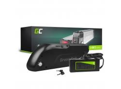 Accumulator Battery Green Cell Down Tube 36V 13Ah 468Wh for Electric Bike E-Bike Pedelec