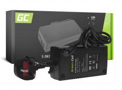 Green Cell ® Ladegerät 42V 2A (3 Pin) für 36V Elektro Fahrrad Akku