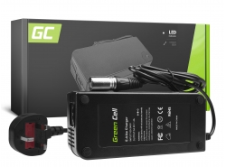 Charger for Electric Bikes, Plug Cannon, 54.6V, 4A