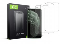 4x Screen Protector GC Clarity for Apple iPhone X / XS / 11 Pro