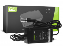 Green Cell ® Charger for Batteries for Electric Bikes 24V 2A