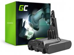 Battery (2Ah 21.6V) 968670-02 968670-03 968670-06 SV11 Green Cell for Dyson V7 Animal Pro+ Absolute Car+Boat Trigger