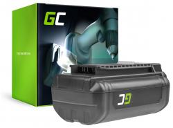 Batterie Green Cell (3Ah 36V) 5133002166 BPL3626D2 BPL3650 BPL3650D OP4026 RY36B60A for Ryobi RY40200 RY40403 RY40204 RY40210