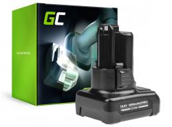 Battery Green Cell (5Ah 10.8V) GBA 12V 2607336333 D-70745 2607336013 BAT414 for  Bosch GAS GLI GSR 10.8V-LI 10.8V-LI