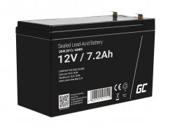 Green Cell ® Gel Battery AGM 12V 7.2Ah