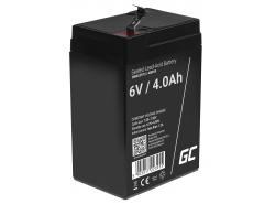 Green Cell ® Gel Battery AGM VRLA 6V 4Ah