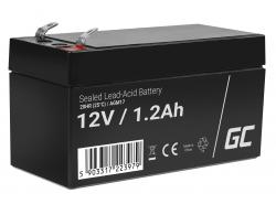 Green Cell ® Gel Battery AGM VRLA 12V 1.2Ah
