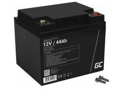 Green Cell ® Gel Battery AGM VRLA 12V 44Ah